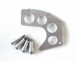 TRIUMPH Bonneville, Thruxton Scrambler Aluminum Front Sprocket Cover Silver or Raw Brushed Aluminium.